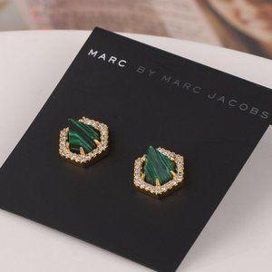 Marc Jacobs Tapered Geometric Stud Earrings